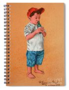 It's A Hot Day - Es Un Dia Caliente Spiral Notebook