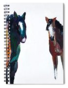 It's All About The Horses Spiral Notebook