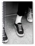 It's All Black And White Spiral Notebook
