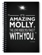 Its Amazing Molly Spiral Notebook