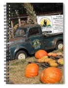 It's Fall At Sunrise Grocery Spiral Notebook