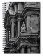 It's In The Details - Philadelphia City Hall Spiral Notebook