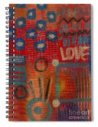 It's Love Spiral Notebook