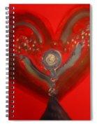 It's Raining In My Heart Spiral Notebook
