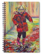 It's Raining, It's Pouring Spiral Notebook