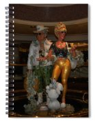 Its Vegas Baby Spiral Notebook