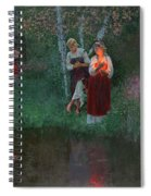 Ivan Kupala. Fortunetelling For Wreaths. Spiral Notebook