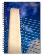 Ivory Tower At Indian River Inlet Spiral Notebook