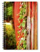 Ivy Spiral Notebook
