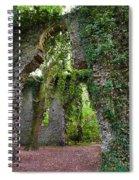 Ivy Clad Ruin Spiral Notebook