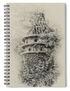 Ivy Covered Castle In The Woods Spiral Notebook