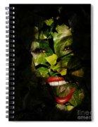 Ivy Glamour Spiral Notebook