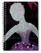 Ivy II In Bloom Spiral Notebook