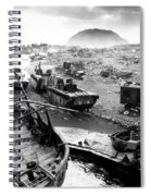 Iwo Jima Beach Spiral Notebook