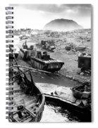 Iwo Jima Beach Spiral Notebook
