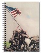 Iwo Jima Spiral Notebook