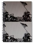 Iwo Jima Spiral Notebook