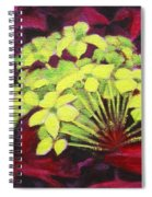 Ixora - Jungle Flame Spiral Notebook