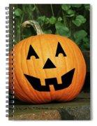 Jack 0' Lantern Spiral Notebook