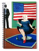 Jack And Marilyn Spiral Notebook