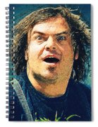 Jack Black - Tenacious D Spiral Notebook
