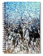 Jack Frost Forest Spiral Notebook