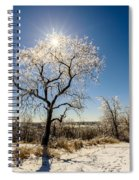 Jack Frost's Last Stand Spiral Notebook