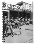 Jack Hendrickson With Pet Burro Number 2 Helldorado Days Parade Tombstone Arizona 1980 Spiral Notebook