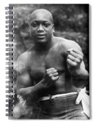 Jack Johnson (1878-1946) Spiral Notebook