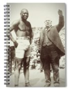 Jack Johnson - Heavyweight Boxing Champion  1908 - 1915 Spiral Notebook