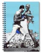 Jack Johnson Jim Jeffries Bout July 4th Reno Nevada 1910-2008 Spiral Notebook