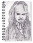 Jack Sparrow Spiral Notebook
