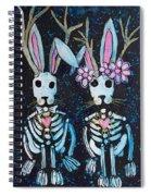 Jackalope Love Spiral Notebook