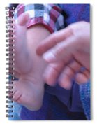 Jack's Feet Spiral Notebook