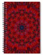 Jackson Dk2 Guitar Kaleidoscope Spiral Notebook