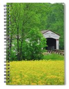 Jackson In Yellow Spiral Notebook