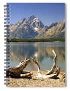 Jackson Lake 3 Spiral Notebook