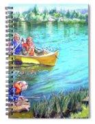 Jackson Lake Spiral Notebook