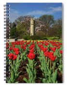 Jackson Park Spring Tulips 2 Spiral Notebook