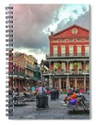 Jackson Square Evening Spiral Notebook