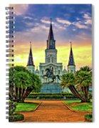 Jackson Square Evening Spiral Notebook