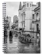 Jackson Square Rainy Day Nola Spiral Notebook