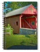 Jackson's Mill Covered Bridge Spiral Notebook