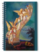 Jacob's Ladder - Jacob's Dream Spiral Notebook