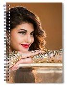 Jacqueline Fernandez Spiral Notebook