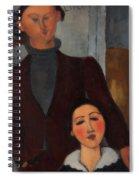 Jacques And Berthe Lipchitz Spiral Notebook