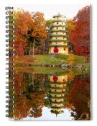 Jade Buddha Pagoda 4 Spiral Notebook