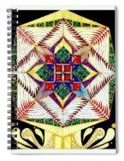 Jaded Flower Spiral Notebook
