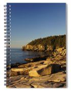 Jagged Coast Of Maine Spiral Notebook