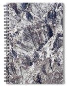 Jagged Glacier Spiral Notebook